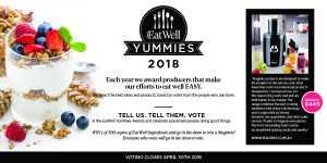 WellBeing – EatWell Yummies Awards 2018 – Win 1 of 300 copies of EatWell Superfoods & a Magimix