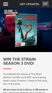Access All Areas – Win The Strain Season 3 DVD