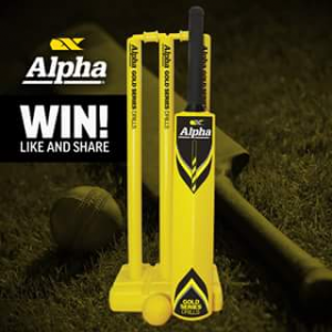 Alpha Tools – Win 1 of 5 Alpha Cricket Sets