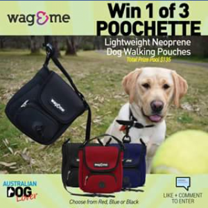Australian Dog Lover The Poochette – Competition (prize valued at $44.95)