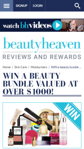 Beauty Heaven – Win a Beauty Bundle Valued at Over $1000 (prize valued at $1,000)