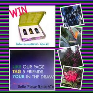 Belle fleur Belle vie – Win a Doterra Essential Oils (prize valued at $35)