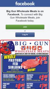 Big Gun Wholesale Meats Underwood – Win 1 of 2 $100 Vouchers