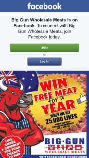 Big Gun Wholesale Meats – Win a Year's Worth of Meat