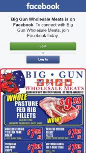 Big Gun Wholesale Meats – Win 1 of 2 $100 Vouchers