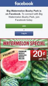 Big Watermelon Bushy Park – Competition (prize valued at $400)