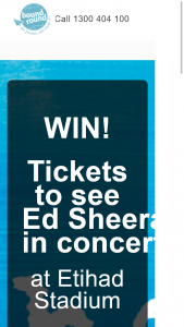 Bound Round – 2x Arena Standing Tickets for Friday 9 March 2018 at Etihad Stadium (prize valued at $100)