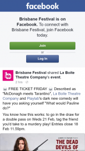Brisbane festival – Win a Double Pass to See Dead Devils of Cockle Creek
