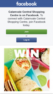 Calamvale Central Shopping Centre – Win a $100 Woolworths Card Must Collect