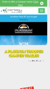 Certegy Ezi-Pay – Win a Camper Trooper Trailer Between Now and February 28th 2018 (prize valued at $15,881)