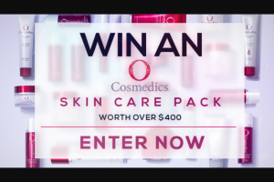Channel 7 – Sunrise – Win The Ultimate Skin Care Bundle (prize valued at $400)