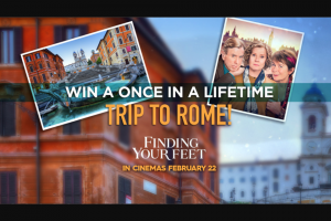 Channel 9 – Today Show – Win a Trip to Rome (prize valued at $24,900)