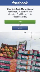 Charlie's Fruit Market – Win a Tray of Keith Mangoes Must Collect