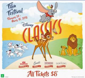 Chicks at the Flicks – Win One of Four Family Passes to Disney Classics Film Festival