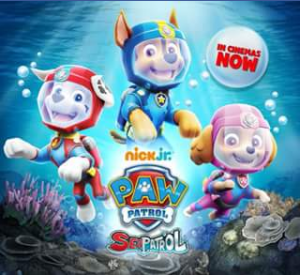 Chicks at the Flicks – Win One of Two Paw Patrol Show Bags