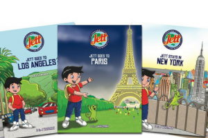 Child Blogger – Win a Set of 5 X Kid's Books By Jett Around The World Worth Over $99
