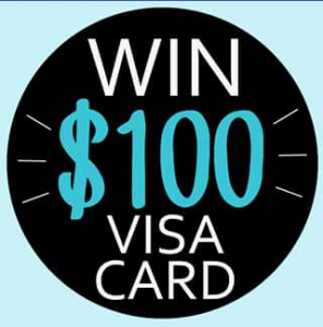 Childcare Provided – Win a $100 Visa Card (prize valued at $100)