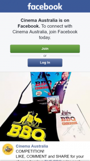 Cinema Australia – Win a The Bbq Prize Pack Including a Movie Apron
