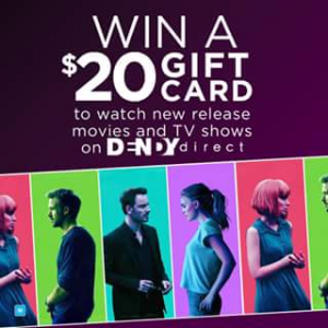 Colette by Colette hayman – Win 1 of 10 $20 Dendy Direct Gift Cards