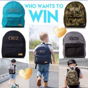 Cruz Co – Win One of The New Personalised Backpack Range