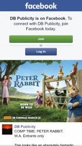 DB Publicity – Win 1/10 Family Passes to Peter Rabbit at Hoyts Garden City 18th March