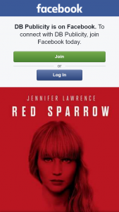 DB Publicity – Win One of Five Red Sparrow Double Passes Preview Wa