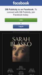 DB Publicity – Win One of Ten Copies of Sarah Blasko Cd Plus Tickets to Her Perth Show