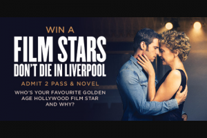 Dendy – Win a Film Stars Don't Die In Liverpool Prize Pack