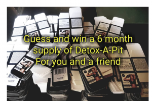 Detox a Pit – Win a Sixth Months Supply Of