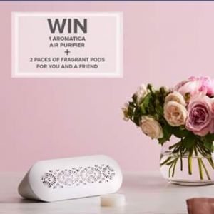 Dusk Australia – Win a Duo Aromatica Air Purifier and 2 Packs of Fragrant Pods