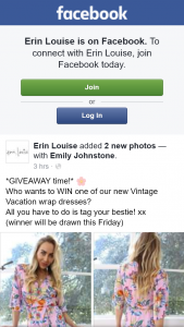 Erin Louise – Win One of Our New Vintage Vacation Wrap Dresses