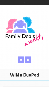 Family Deals Weekly – Win a Duopod Worth Up to $465 (prize valued at $465)