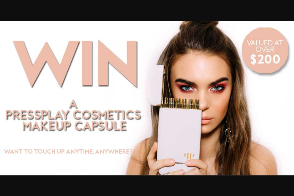 Fashion Weekly – Win a Pressplay Cosmetics Makeup Capsule