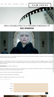 Film Focus – Win a Double Pass to a Preview Screening Of