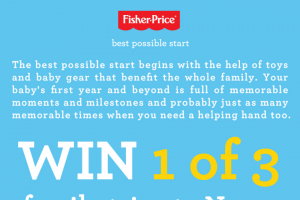 Fisher-Price – Win a Trip for Two (2) Adults and Two (2) Children (12 Years Or Under) to Noosa (prize valued at $6,335)