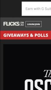 Flicks – Win 10 X Double Passes to Event Cinemas (wwweventcinemas)