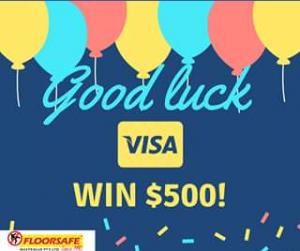 Floorsafe Australia – Win a $500 Visa Gift Voucher