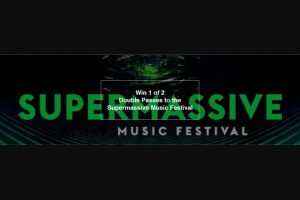 Fritz – Win One of 2 Double Passes to Supermassive Music Festival (prize valued at $1)