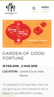Garden City Perth – Win a Share In Over $10000 In Prizes