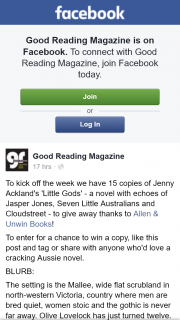 Good reading – Win a Copy