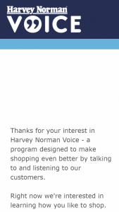 Harvey Norman – Win 1 of 3 $200 Harvey Norman Gift Vouchers (prize valued at $600)