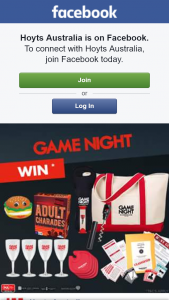 Hoyts Australia – Win 1/10 Game Night Prize Packs
