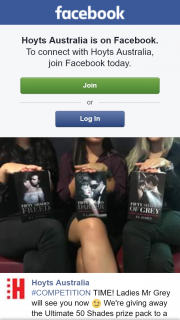 Hoyts Sunnybank – Win a Fifty Shades Prize Pack Must Attend Special Screening
