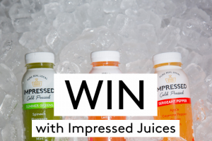 Impressed Juices – Win a Month's Supply of Juice