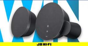 JB HiFi – Win a Pair of Logitech Mx Sound Premium Bluetooth Speakers