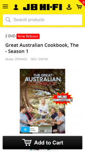 JB HiFi – Win 1 of 10 Signed Cookbooks By Maggie Beer