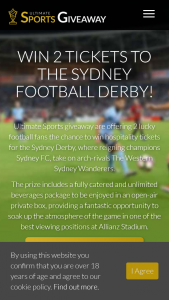 Ladbrokes – Win Hospitality Tickets for The Sydney Derby (prize valued at $5,000)