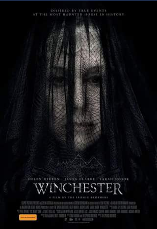 Matt's movie reviews – Win a Double-Pass to See The Horror Thriller Winchester Starring Helen Mirren