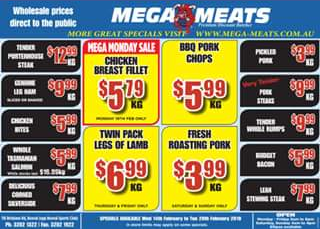 Mega Meats Booval – Win a $50 Store Voucher