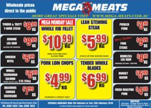 Mega Meats Booval – Win a $50 Store Voucher (prize valued at $50)